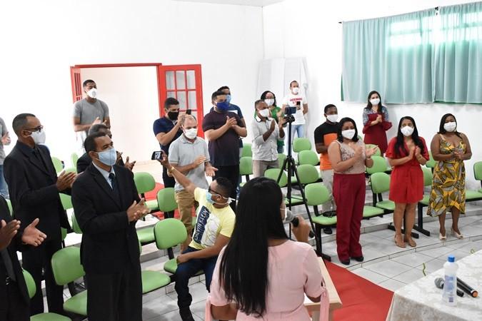 Ato Solene foi realizado em comemoração ao 28º aniversário de Santa Rosa do Piauí
