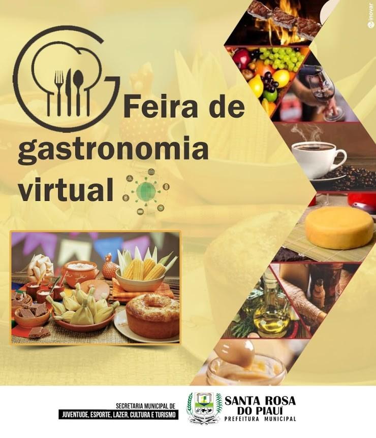 Secretaria de Juventude realiza enquete de Feira de Gastronomia Virtual