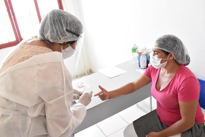Secretaria de Saúde inicia busca ativa para realização de testes de Covid-19 em Santa Rosa