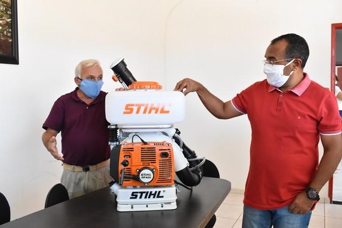 Secretaria Municipal de Saúde adquire Pulverizador e reforça ações de sanitização em Santa Rosa do Piauí