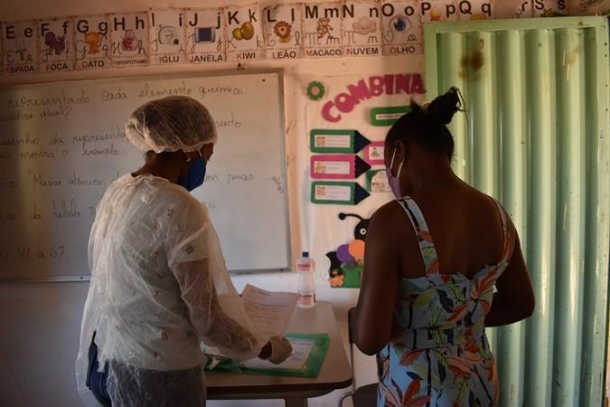 Em Santa Rosa, as aulas remotas tiveram inicio com entrega de atividades