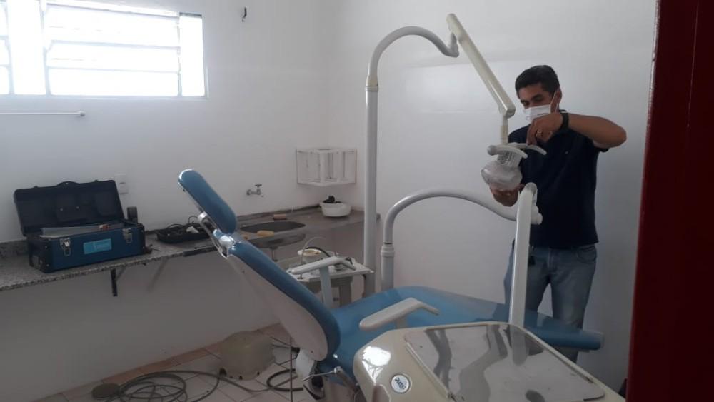 Centros odontológicos passam por manutenção visando bem estar da população santarrosense