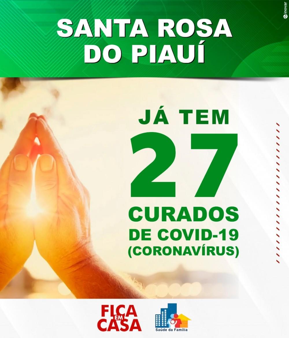 Santa Rosa do Piauí zera os casos positivos de COVID-19
