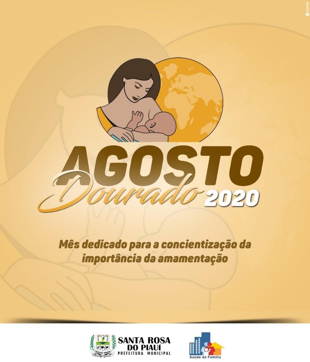 """Campanha """"Agosto Dourado"""" incentiva o aleitamento materno no município"""