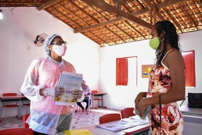 Programa Saúde na Escola foi realizado nas escolas de Santa Rosa do Piauí