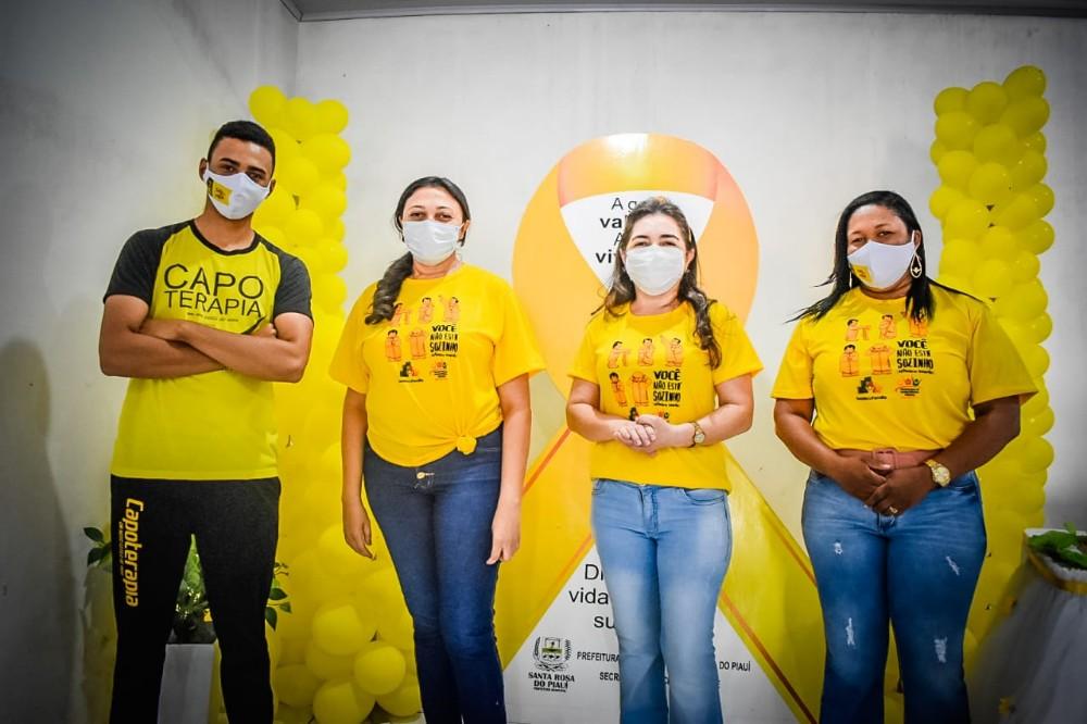 Setembro Amarelo é trabalhado durante todo o mês em Santa Rosa